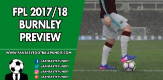FPL Burnley Preview
