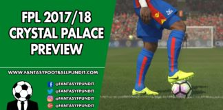 FPL Crystal Palace Preview