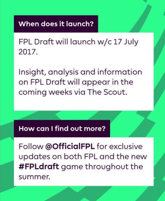 FPL Draft Information