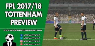FPL Tottenham Preview