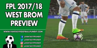 FPL West Brom Preview