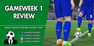 Gameweek 1 Review
