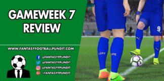 Gameweek 7 Review