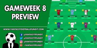 Gameweek 8 Preview