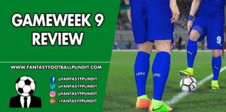 Gameweek 9 Review