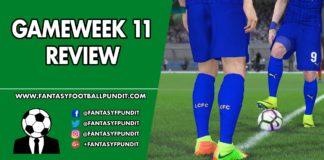 Gameweek 11 Review