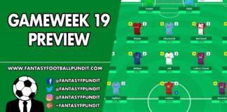Gameweek 19 Preview