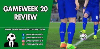 Gameweek 20 Review