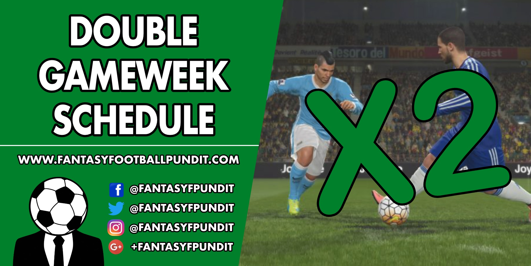 Double Gameweek Schedule
