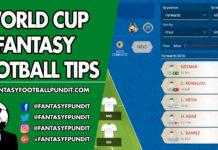 World Cup Fantasy Football Tips