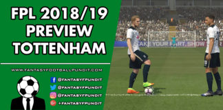FPL Tottenham Preview