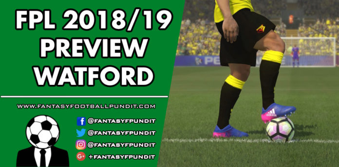 FPL Watford Preview