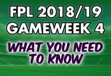 Gameweek 4 Tips