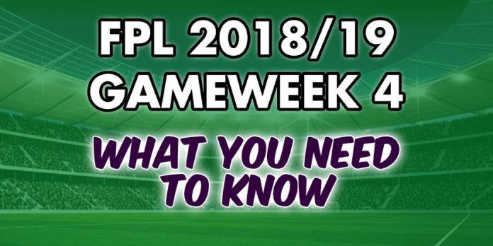 Gameweek 4 Tips