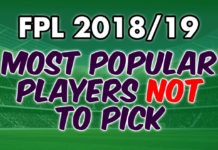 Most Popular Players NOT To Pick
