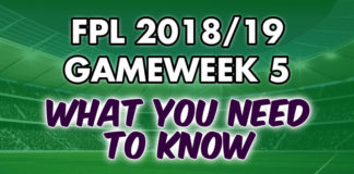 Gameweek 5 Tips