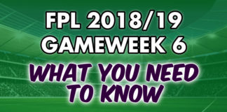 Gameweek 6 Tips