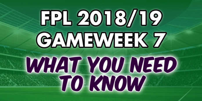 Gameweek 7 Tips