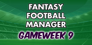 Fantasy Football Manager Gameweek 9