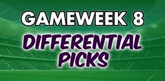 Gameweek 8 Differential Picks