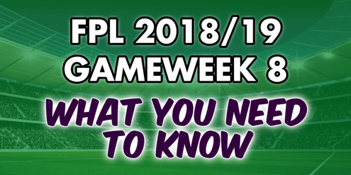 Gameweek 8 Tips