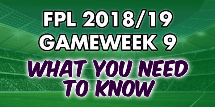 Gameweek 9 Tips