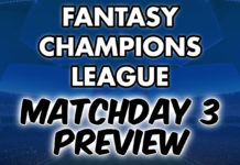 Matchday 3 Preview