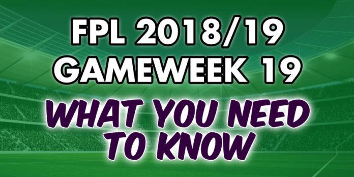 Gameweek 19 Tips