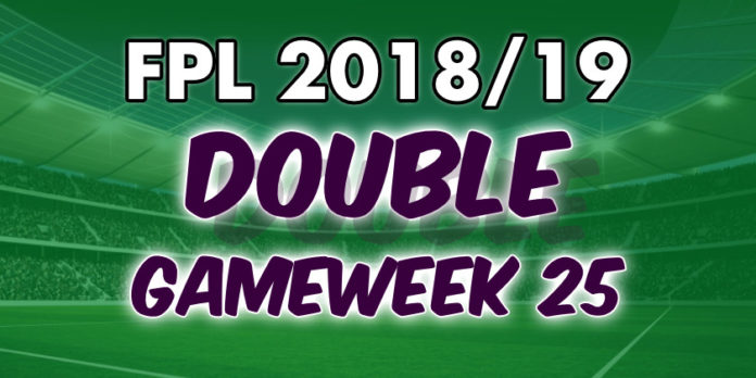 FPL Double Gameweek 25