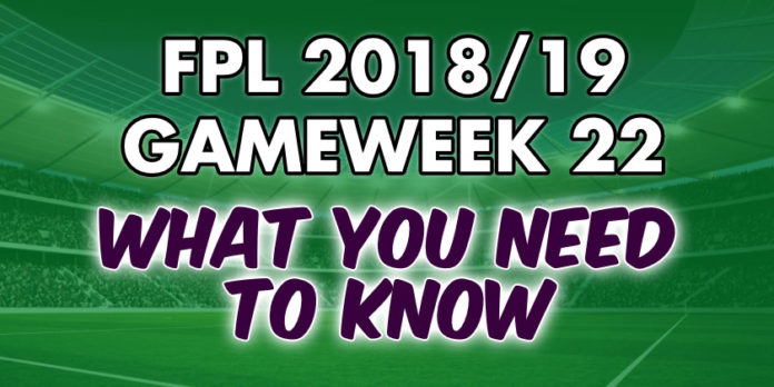 Gameweek 22 Tips